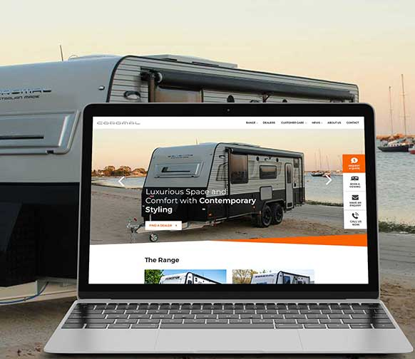 Coromal Website