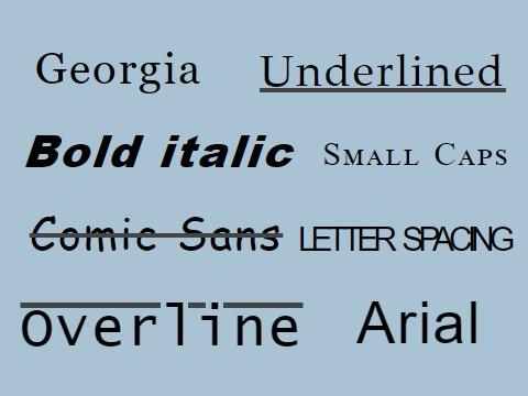 Fonts Design